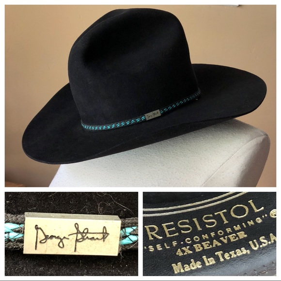 2dc6e37a Resistol George Strait 4XBeaver SelfConforming Hat.  M_5b4159fb7386bc68bbb66802. Other Accessories ...